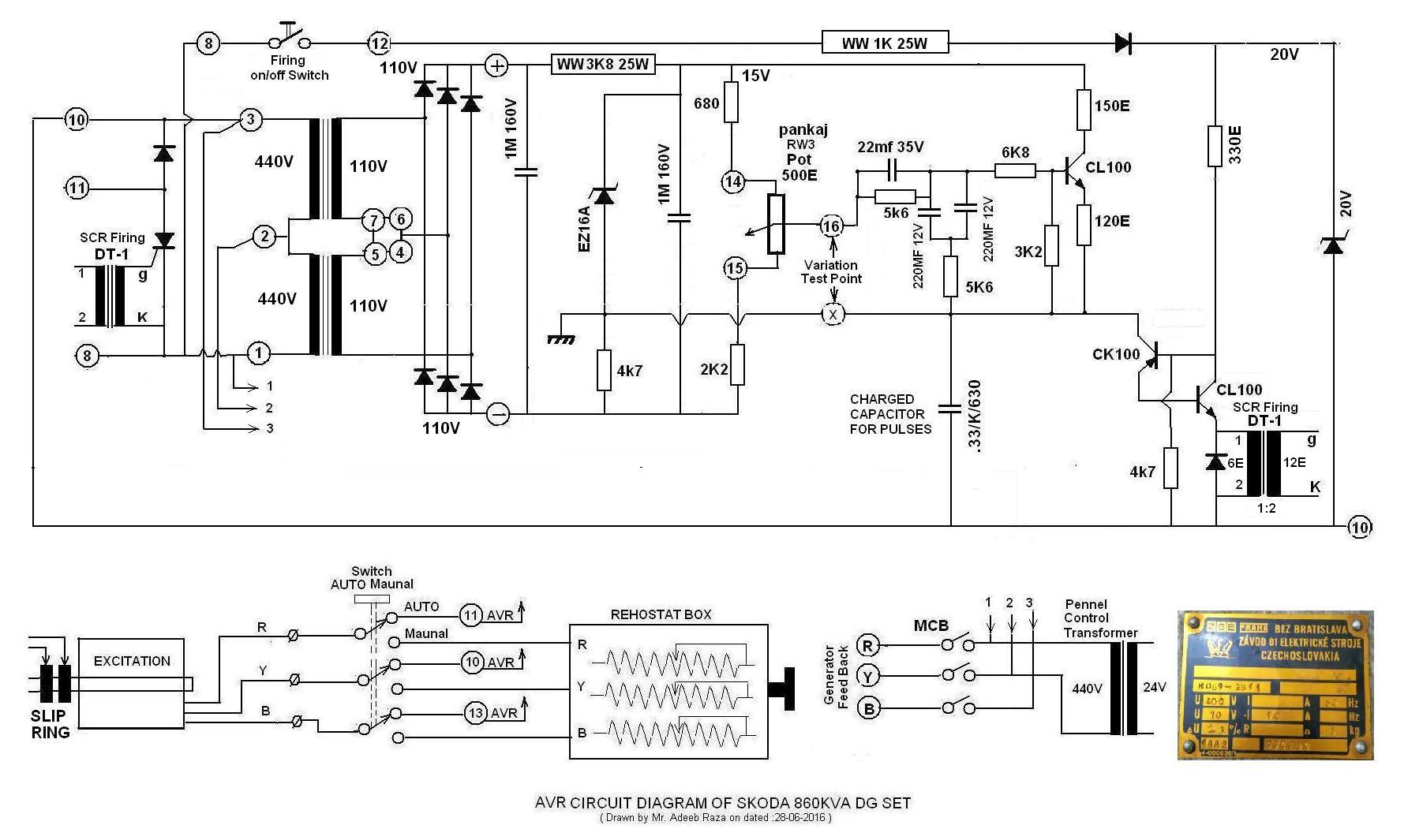 Skoda 860 Kva Dg Set Circuit Diagram Of Avr Adeebs Space Inverter On Images For Using Sg3524 Image