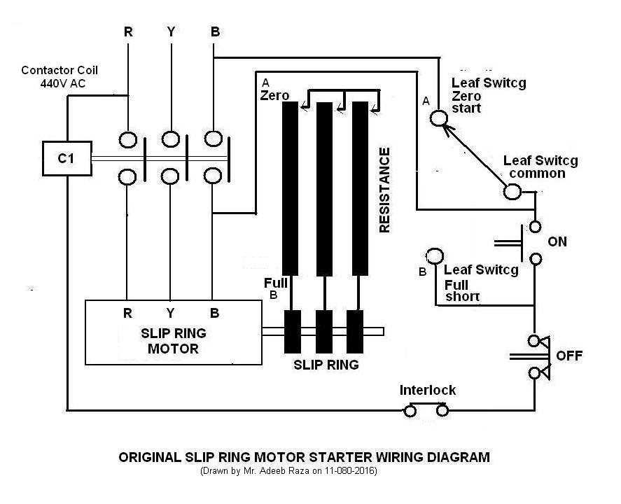 slipringa slip ring motor starter adeeb's space slip ring motor starter wiring diagram at gsmx.co